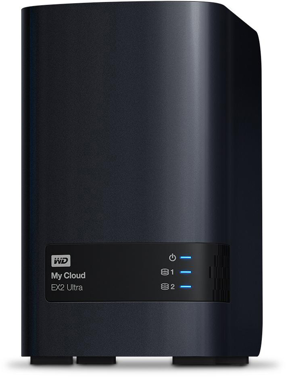 WD My Cloud EX2 Ultra 4TB сетевое хранилище (WDBSHB0040JCH-EEUE) сетевое хранилище wd my cloud pro pr4100 wdbkwb0080kbk eeue