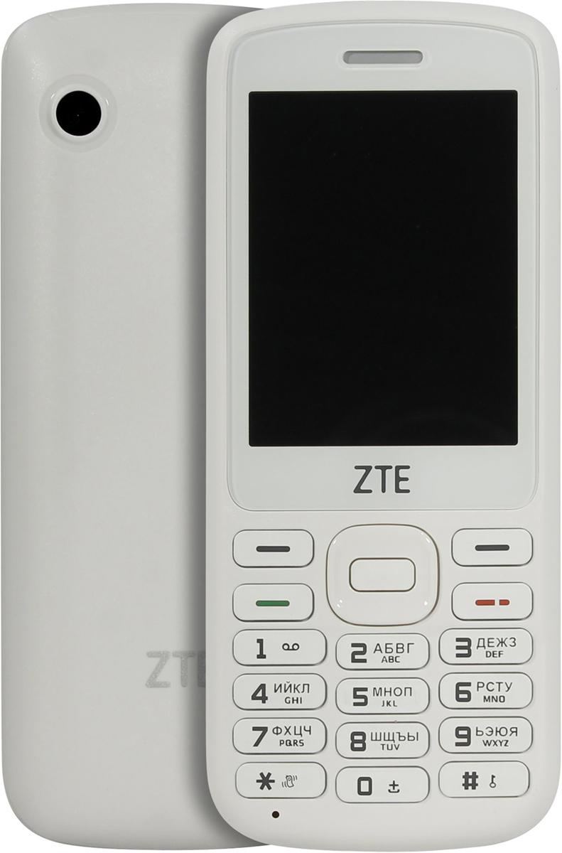 Мобильный телефон ZTE F327, белый мобильный телефон zte f327 white белый