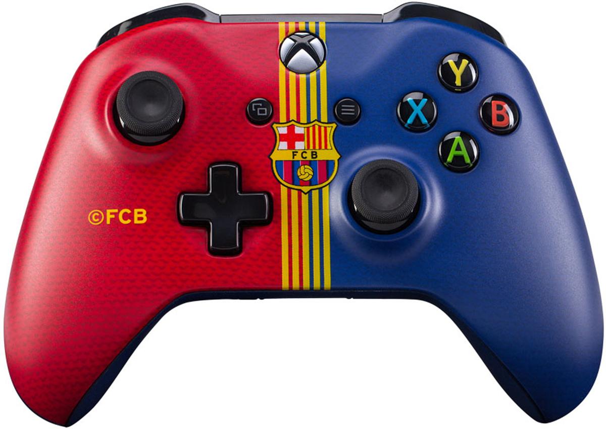 Xbox One Барселона Клубный беспроводной контроллер зарядная станция с 2 я аккумуляторами black horns для геймпадов xbox one