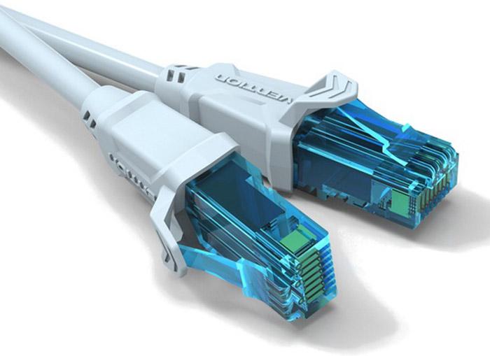 Vention UTP cat.5е RJ45, Grey патч-корд (2 м) powersync cat 7 rj45 high speed ethernet cable dark blue 10m