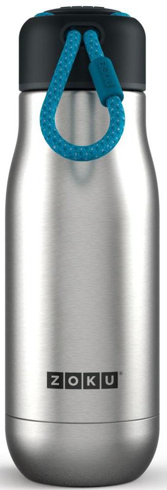 "Термос Zoku ""Hydration"", цвет: металлик, 350 мл"
