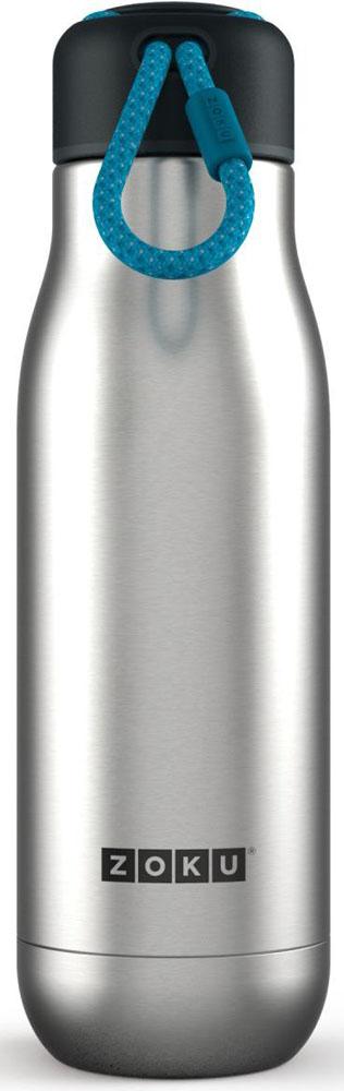"Термос Zoku ""Hydration"", цвет: металлик, 500 мл"