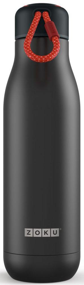 """Термос Zoku """"Hydration"""", цвет: черный, 750 мл"""