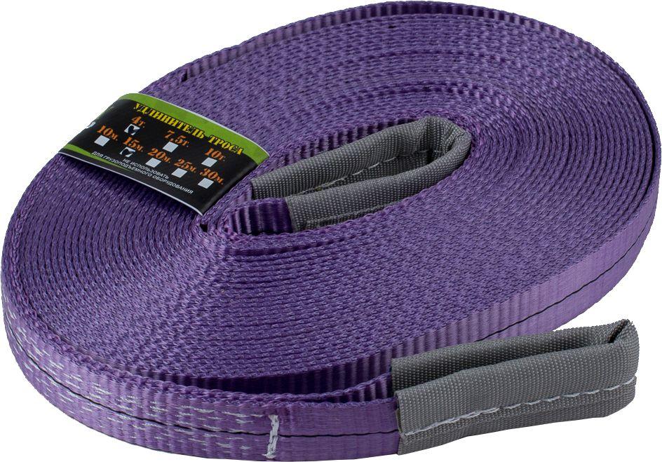 Удлинитель лебедочного троса KennyМастер, цвет: фиолетовый, 4 т, 15 мKM-UPP0415Удлинительный трос KennyМастер идеально подходят для увеличения длины троса лебедки, когда его длины недостаточно для удобного зацепления. Трос изготовлен из полиэстера. Трос отличается прочностью на разрыв, имеет 2 петли, огон усилен протекторным полотном, защищен от истирания. Длина: 15 м; Ширина ленты: 30 мм; Материал ленты: полиэстер; Исполнение: петля/петля.