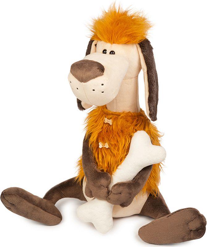 Maxitoys Luxury Мягкая игрушка Пес Робинзон с косточкой 28 см цены онлайн