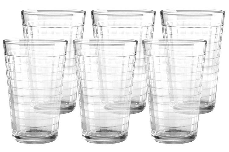 Набор стаканов Style Setter Хобокен, 420 мл, 6 шт2007012UНабор Style Setter Хобокен состоит из шести стаканов, выполненных из высококачественного стекла. Стаканы предназначены для подачи воды, сока и других напитков. Они излучают приятный блеск. Такой набор прекрасно оформит праздничный стол и создаст приятную атмосферу.