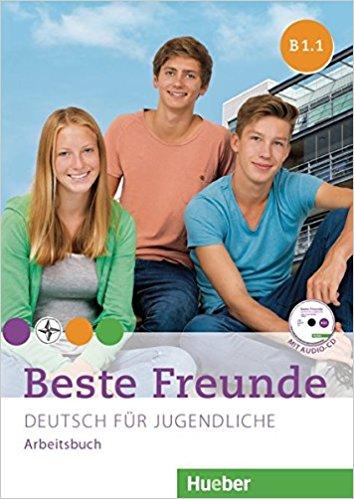 лучшая цена Beste Freunde: B1: Paket Arbeitsbuch B1/1 und B1/2 mit Audio CD