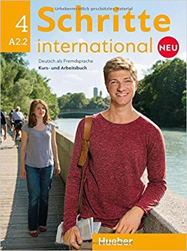 Schritte international 4: Kursbuch + Arbeitsbuch (+ CD) цена и фото