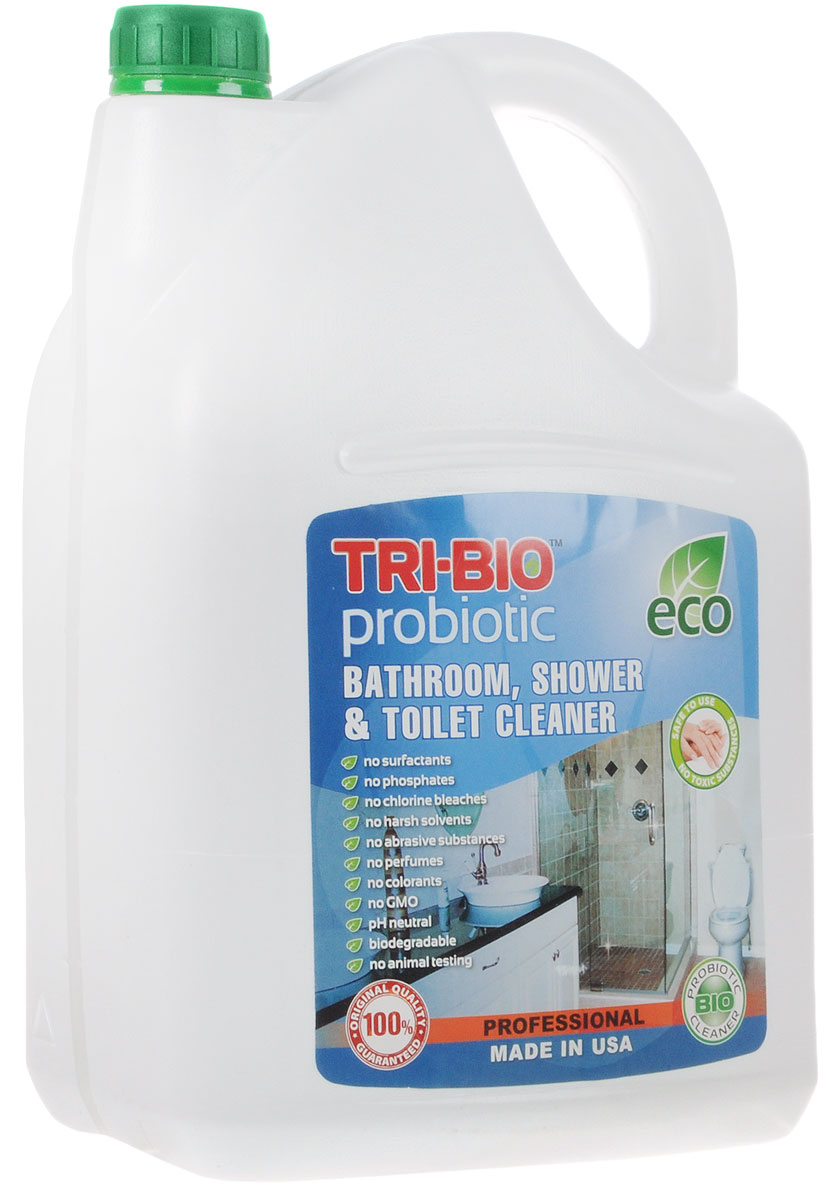 "Биосредство для ванных комнат и туалетов ""Tri-Bio"", 4,4 л"