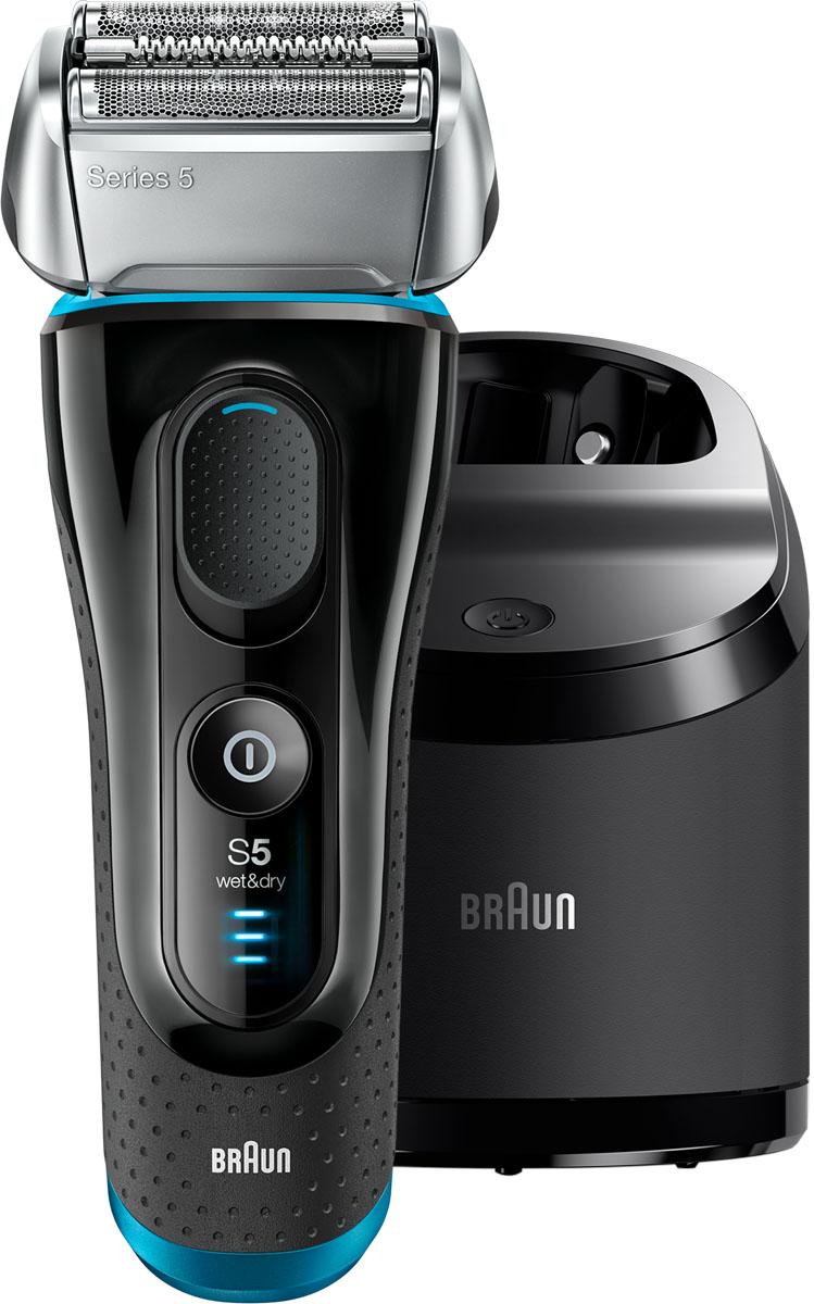 Электробритва Braun Series 5 5190cc Wet&Dry, Black Blue