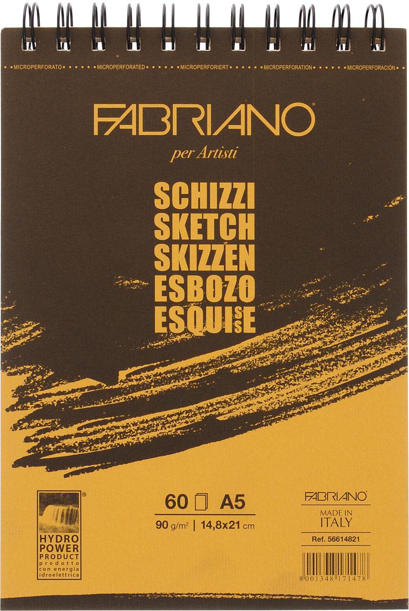 Fabriano Блокнот для зарисовок Schizzi 60 листов 56614821