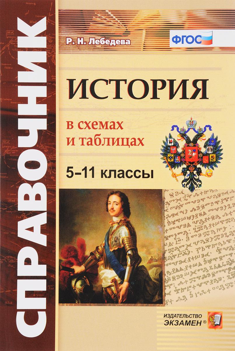 Р. Н. Лебедева История в схемах и таблицах. 5-11 классы. Справочник
