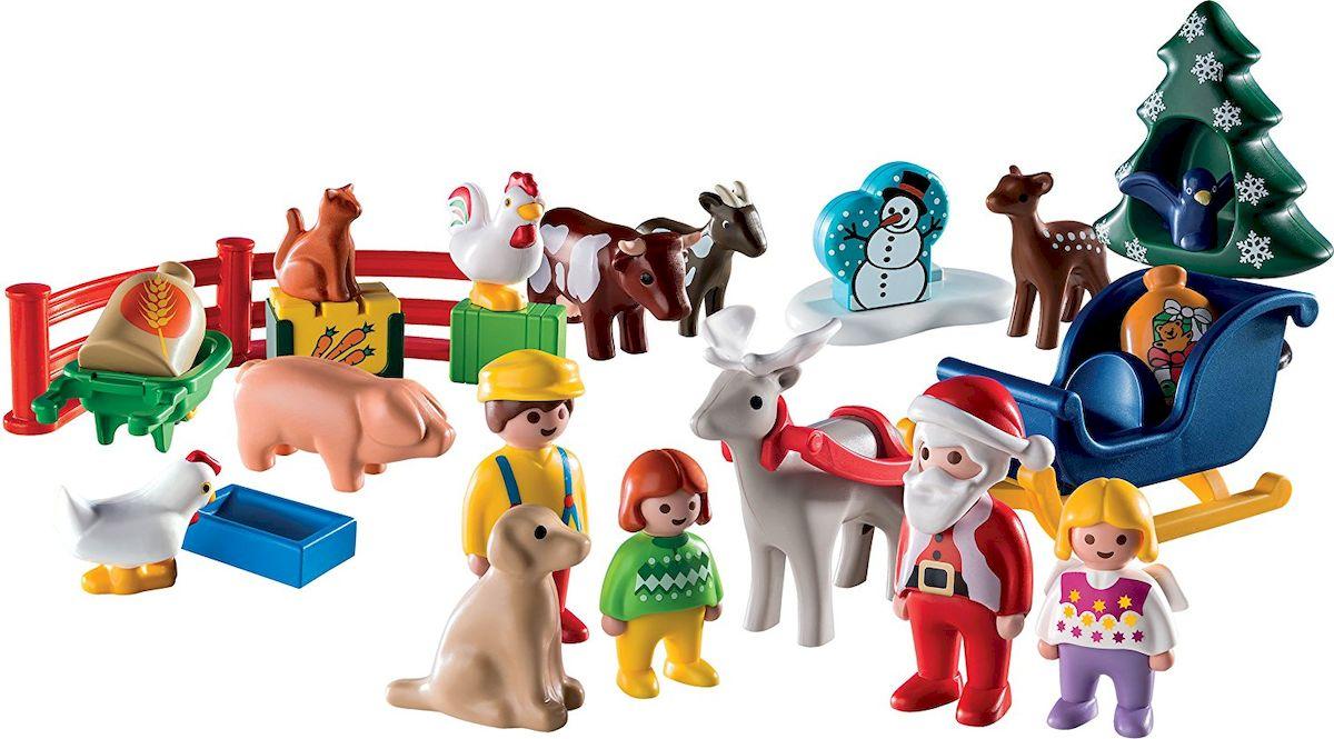 Playmobil Игровой набор-календарь Рождество на Ферме