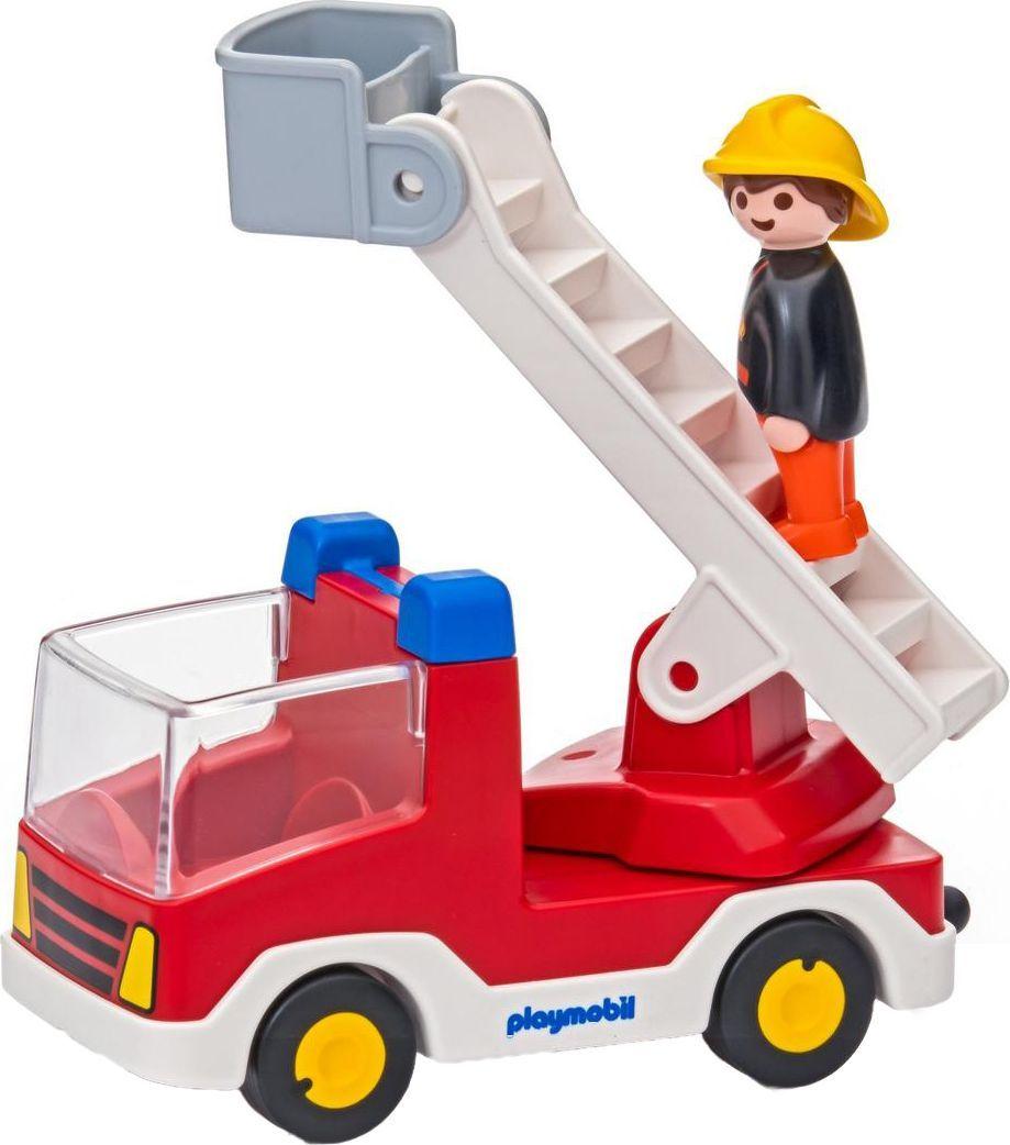 Playmobil Игровой набор Пожарная машина с лестницей