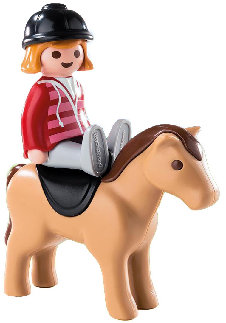 Playmobil Игровой набор Наездница с лошадью