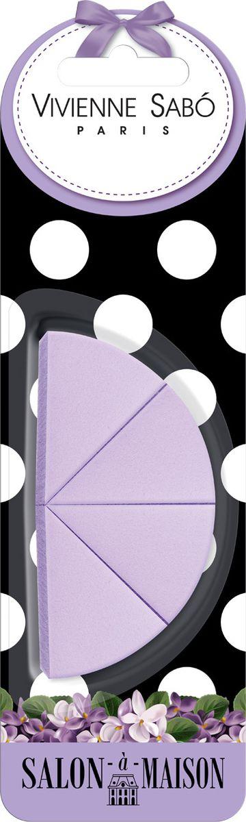 все цены на Vivienne Sabo Набор треугольных спонжей для макияжа, 4 шт онлайн
