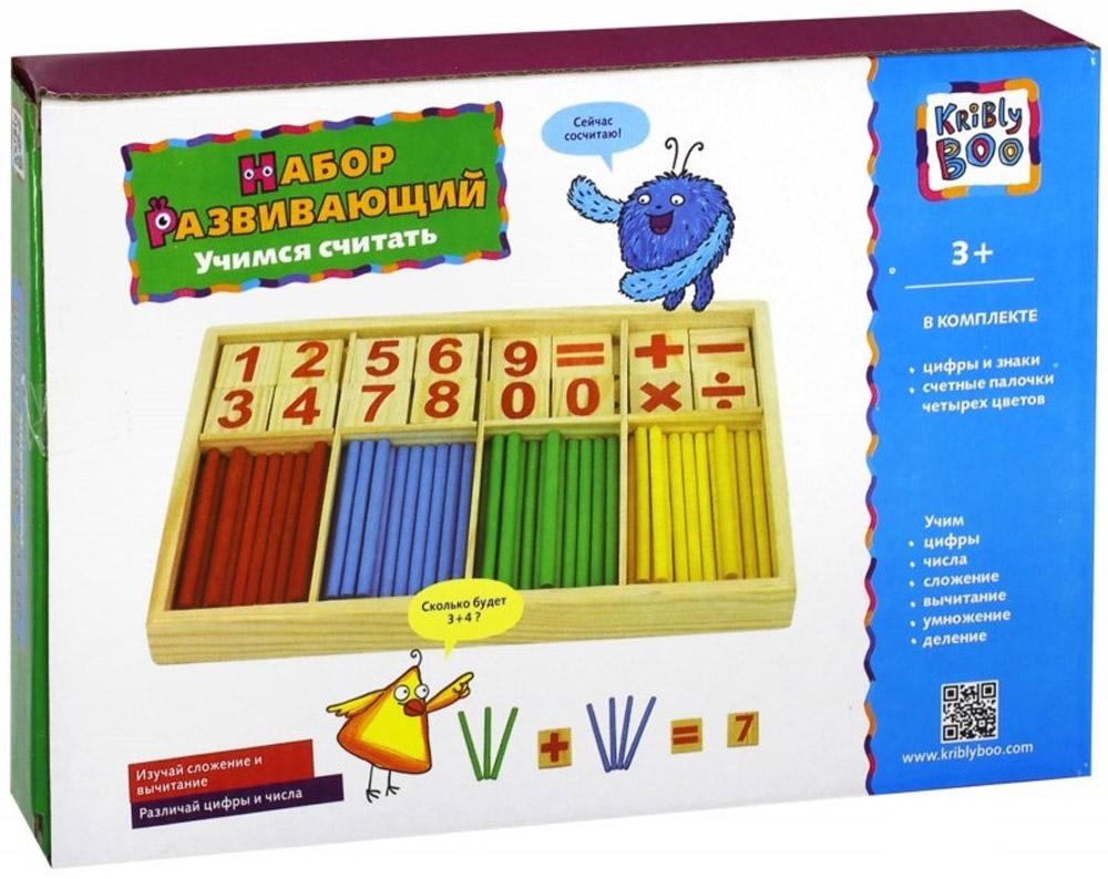 Kribly Boo Обучающая игра Учимся считать