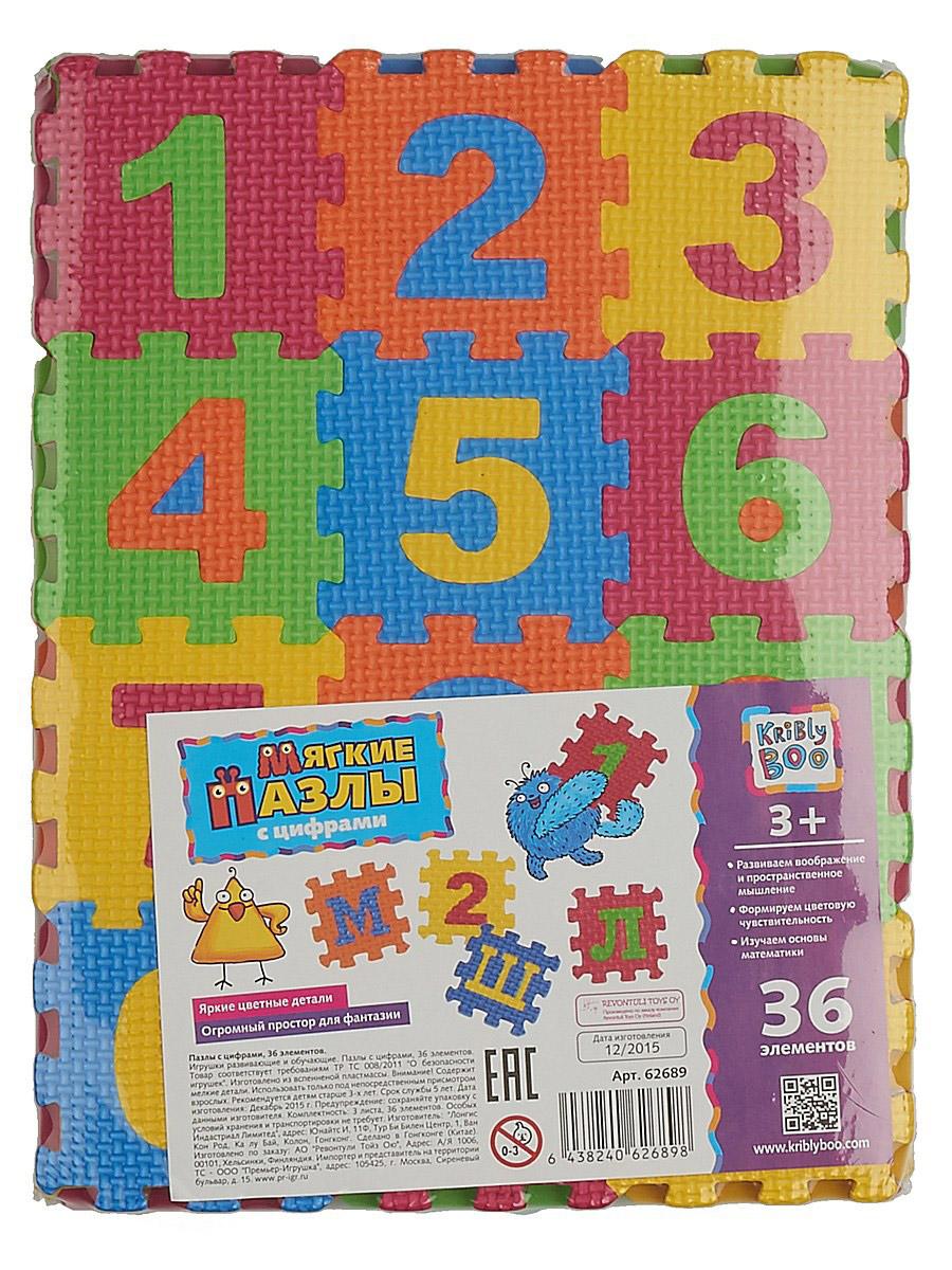 Kribly BooПазл для малышей с цифрами 62689