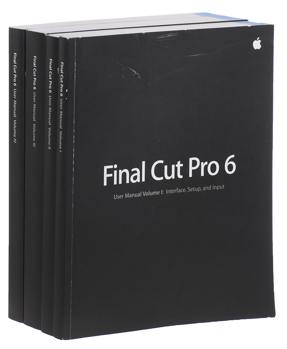 Final Cut Pro 6 (комплект из 4 книг) helmut kobler final cut pro hd for dummies