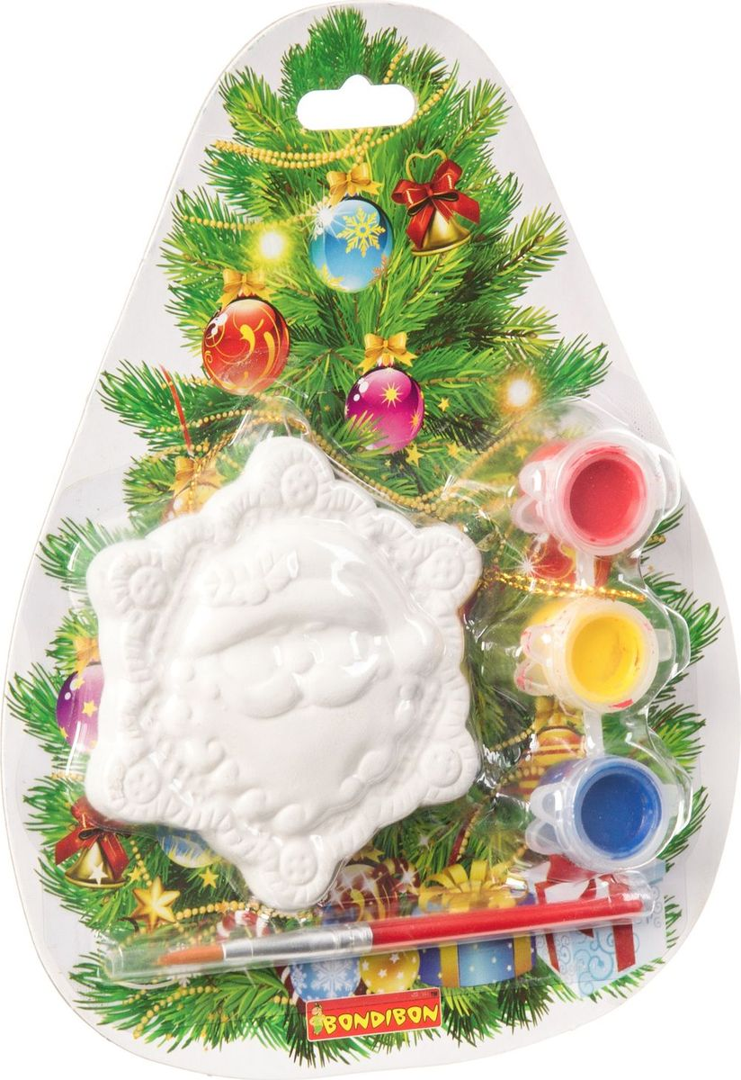 Bondibon Набор для изготовления игрушек Ёлочные украшения Снежинка ВВ1564 bondibon набор для изготовления игрушек ёлочные украшения вв1688