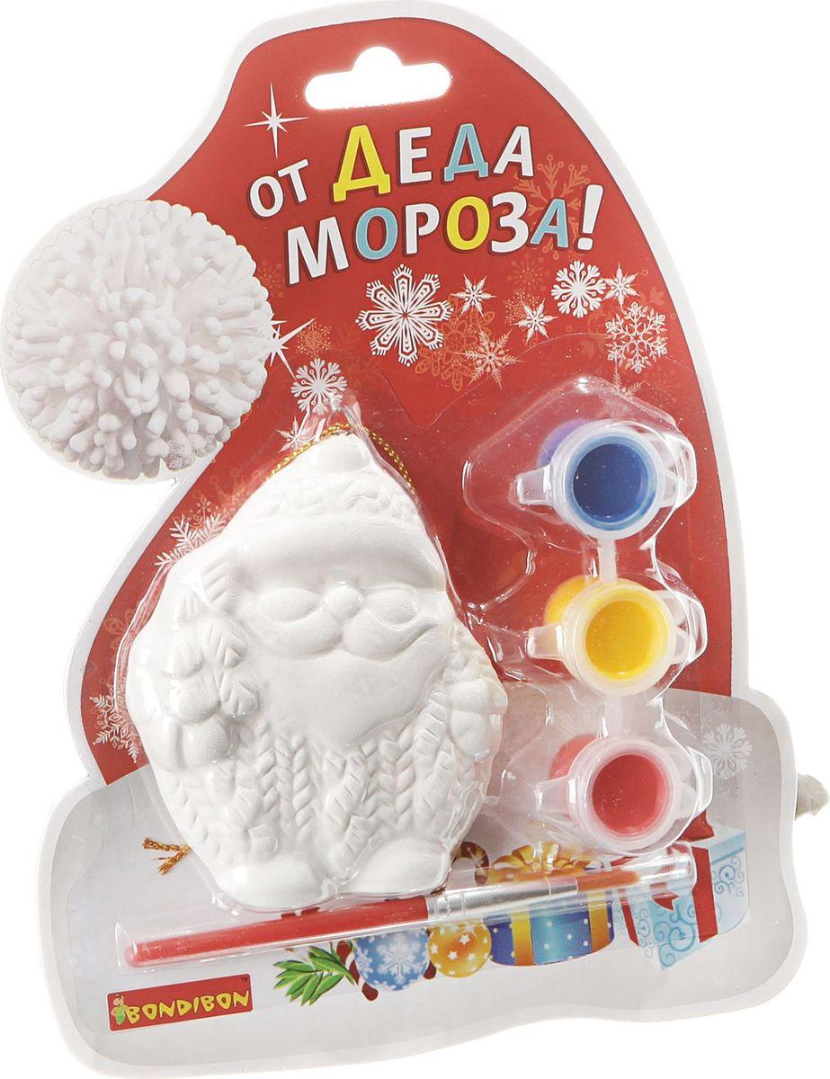 Bondibon Набор для изготовления игрушек Ёлочные украшения Дед Мороз ВВ1599 bondibon набор для изготовления игрушек ёлочные украшения вв1688