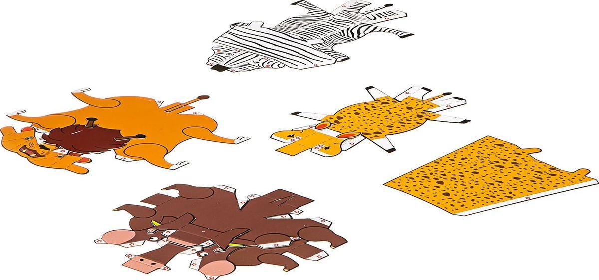 BondibonПоделки из бумаги 3D Модели Животные Bondibon