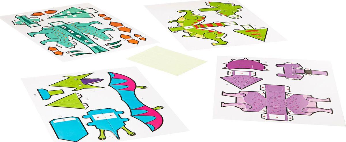 BondibonПоделки из бумаги 3D Модели Динозавры Bondibon