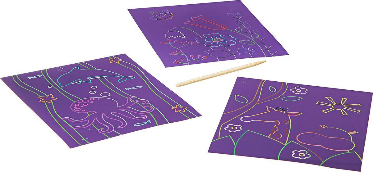 BondibonПоделки из бумаги Цветная гравюра ВВ1852 Bondibon