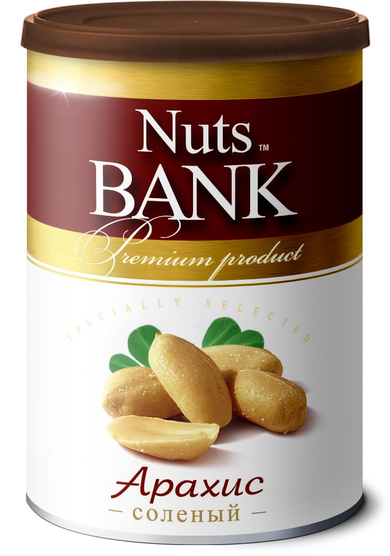 Nuts Bank Арахис соленый, 200 г паста dopdrops арахис морская соль стевия 265 г