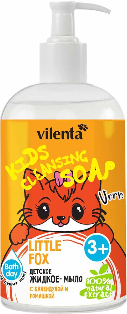 цены Vilenta Детское жидкое мыло Little Fox с календулой и ромашкой 300 мл