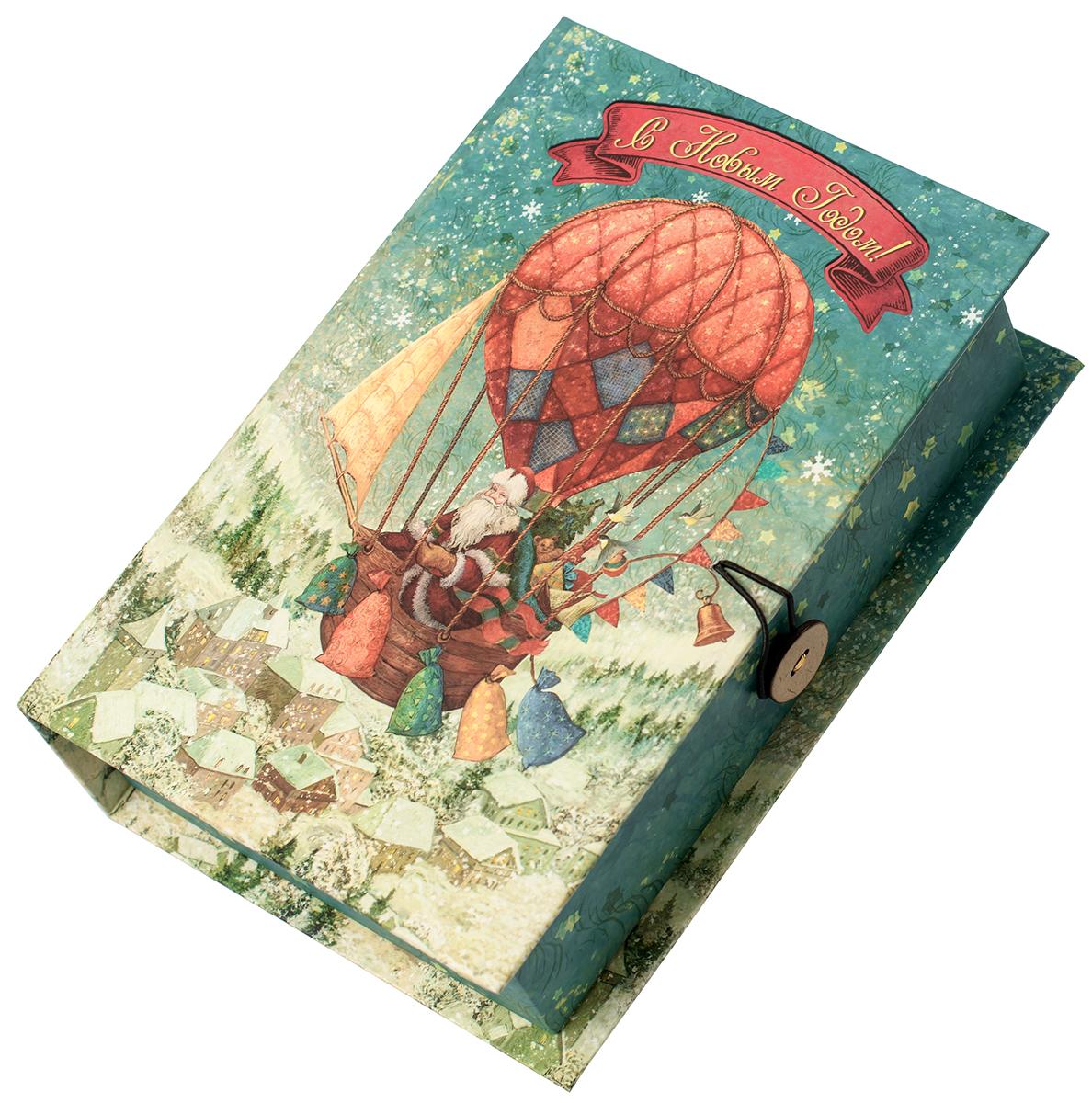 "Коробка подарочная Magic Time ""Доставка подарков"", размер M. 75037"