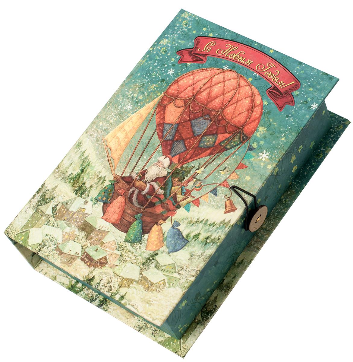 "Коробка подарочная Magic Time ""Доставка подарков"", размер S. 75038"