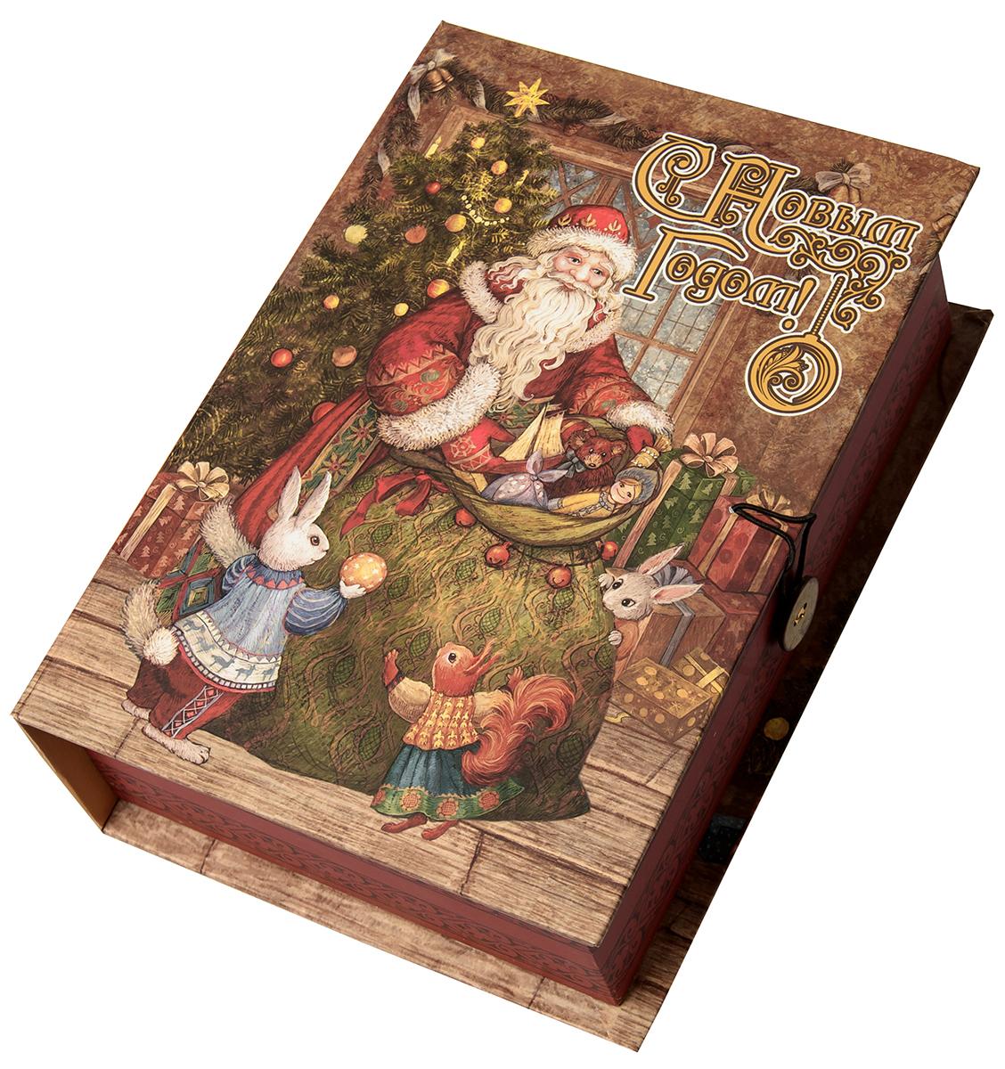 "Коробка подарочная Magic Time ""Мешок с подарками"", размер M. 75047"