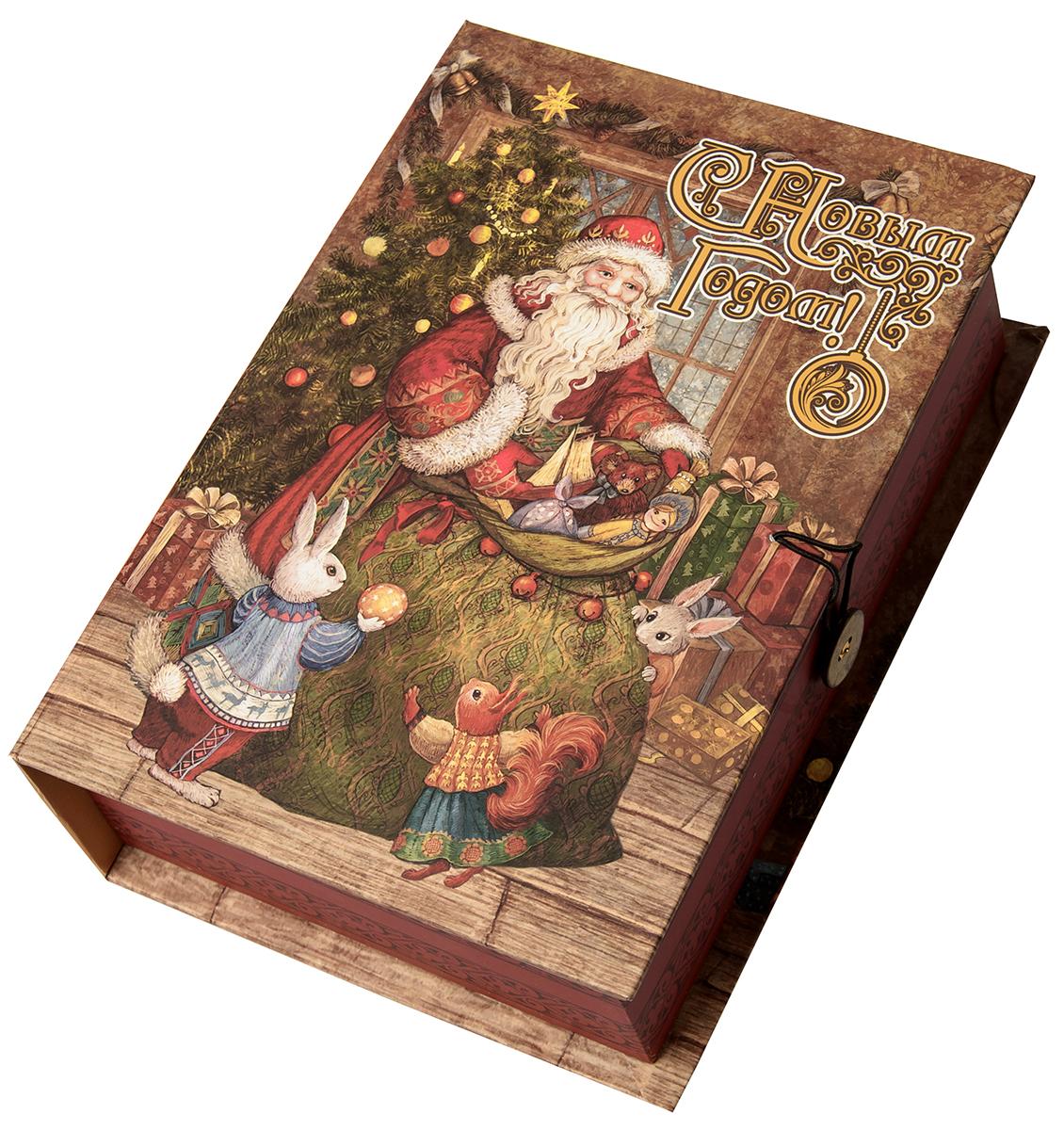 "Коробка подарочная Magic Time ""Мешок с подарками"", размер S. 75048"