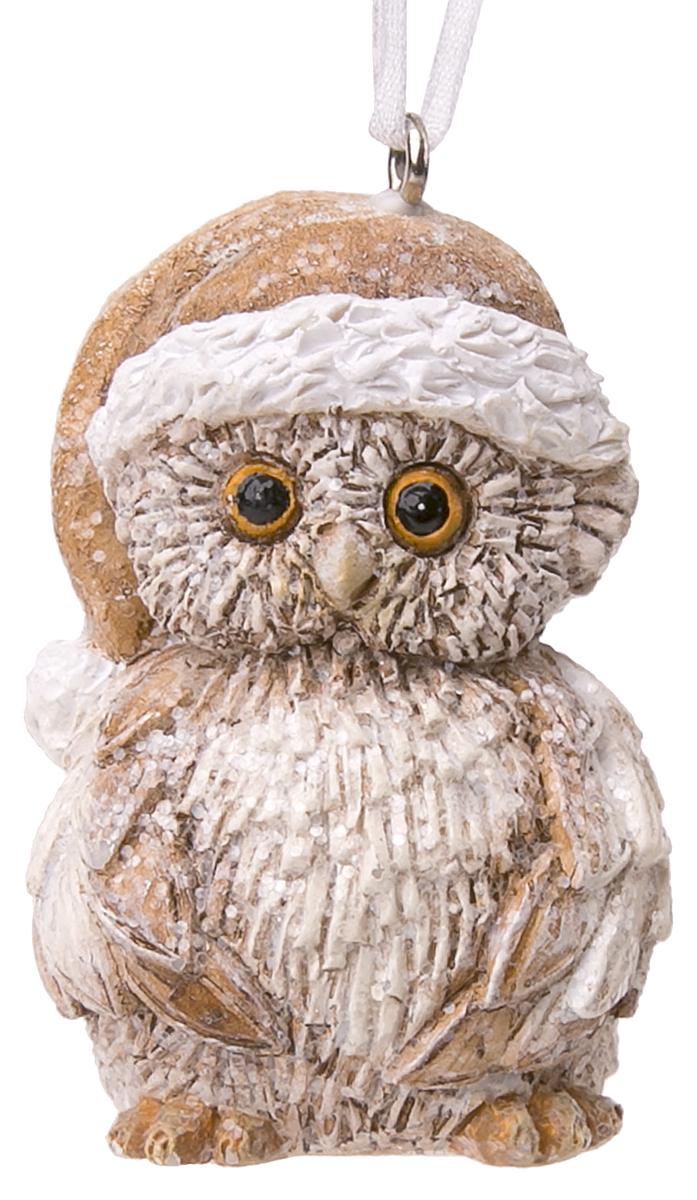 Фото - Украшение новогоднее подвесное Magic Time Совенок в коричневом колпаке новогоднее украшение на голову magic time дед мороз в полосатом колпаке 78606