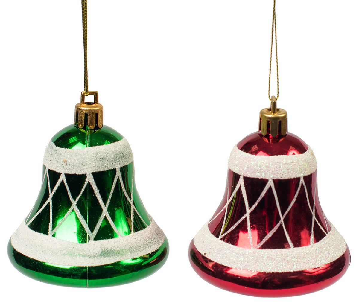 Украшение новогоднее подвесное Magic Time, 2 шт. 75460 новогоднее подвесное украшение 25062