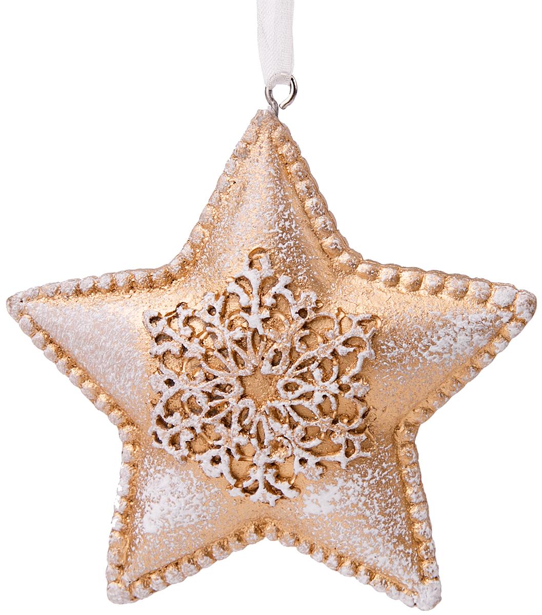 Украшение новогоднее подвесное Magic Time Снежная звезда украшение новогоднее подвесное magic time морозная звезда 8 см