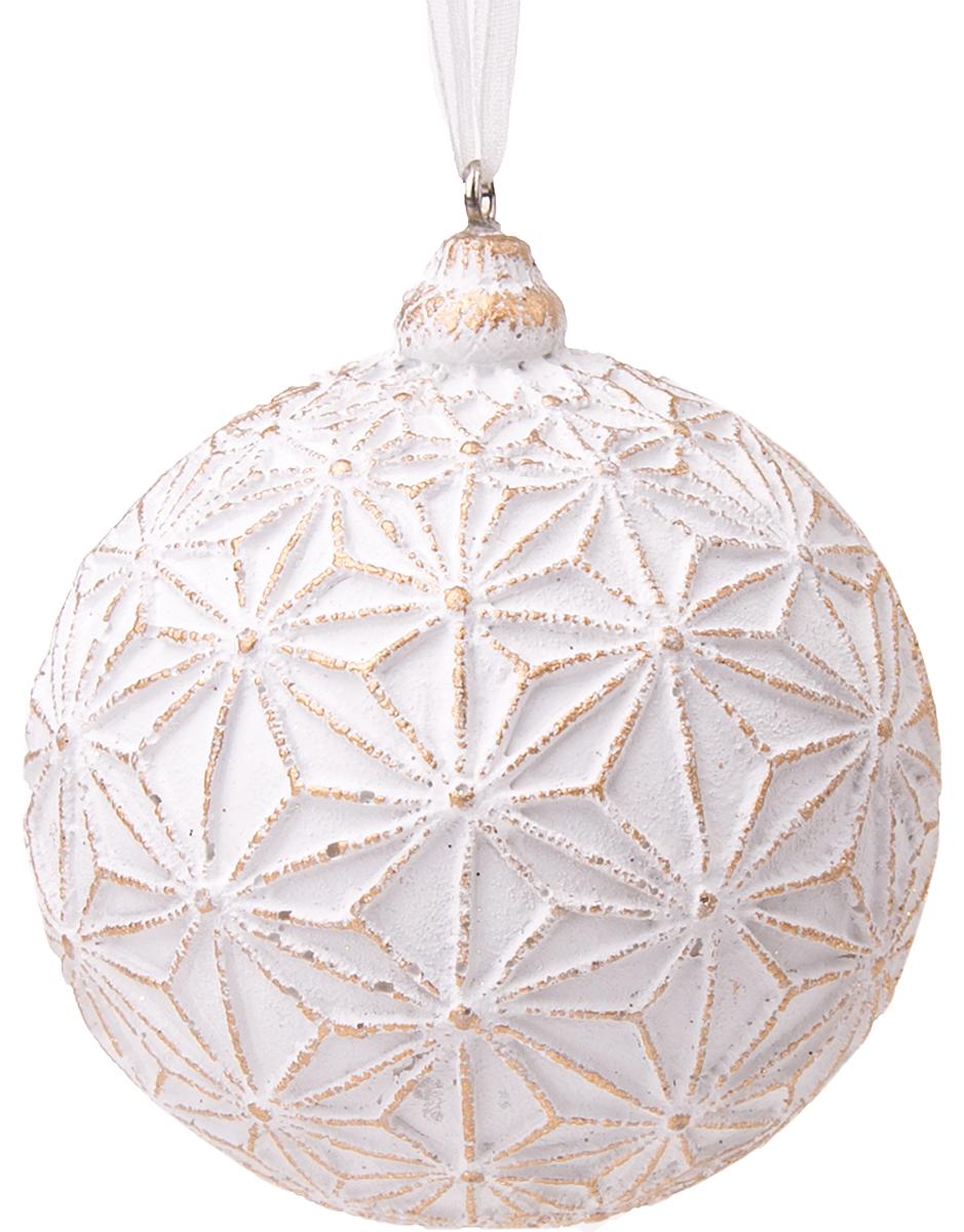 Украшение новогоднее подвесное Magic Time Золотой орнамент новогоднее подвесное украшение 25062