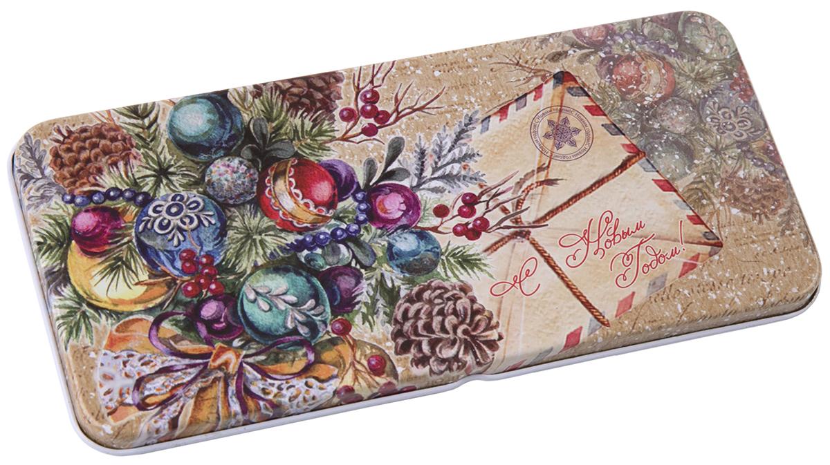 Коробочка для денег подарочная Magic Time Еловый букет. 76336 коробочка для денег подарочная magic time красное и золотое 76335