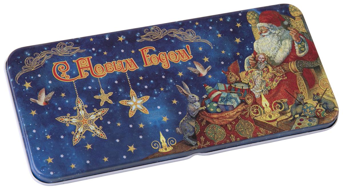 Коробочка для денег подарочная Magic Time Мастерская Деда Мороза. 76341 коробочка для денег подарочная magic time красное и золотое 76335