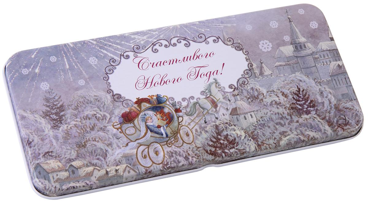Коробочка для денег подарочная Magic Time Новогодняя колесница. 76347 коробочка для денег подарочная magic time красное и золотое 76335