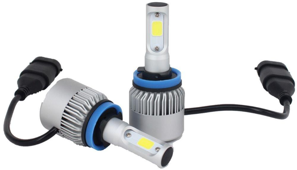 """Лампа автомобильная светодиодная """"OsnovaLed"""", для фар, цоколь H11, 5000 К, 36 Вт, 2 шт"""