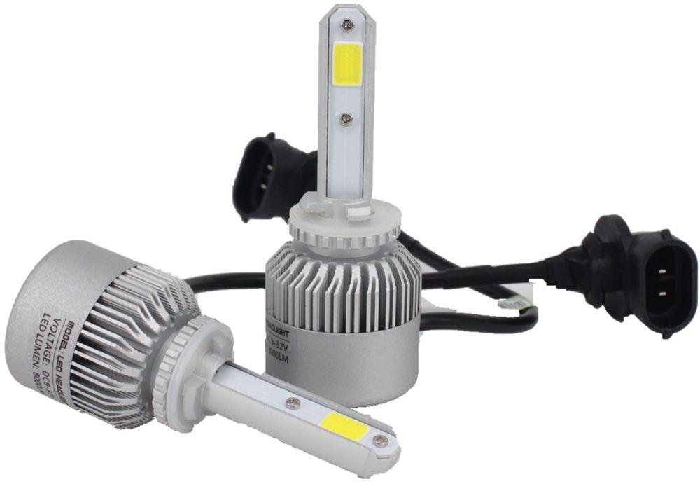 """Лампа автомобильная светодиодная """"OsnovaLed"""", для фар, цоколь H27 (881), 5000 К, 36 Вт, 2 шт"""