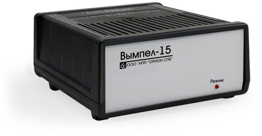 Зарядное устройство Вымпел-15, автомат, для АКБ любой емкости 7А, 12В зарядное устройство вымпел 57 автомат сегментный жк индикатор 0 20а 7 4 18в