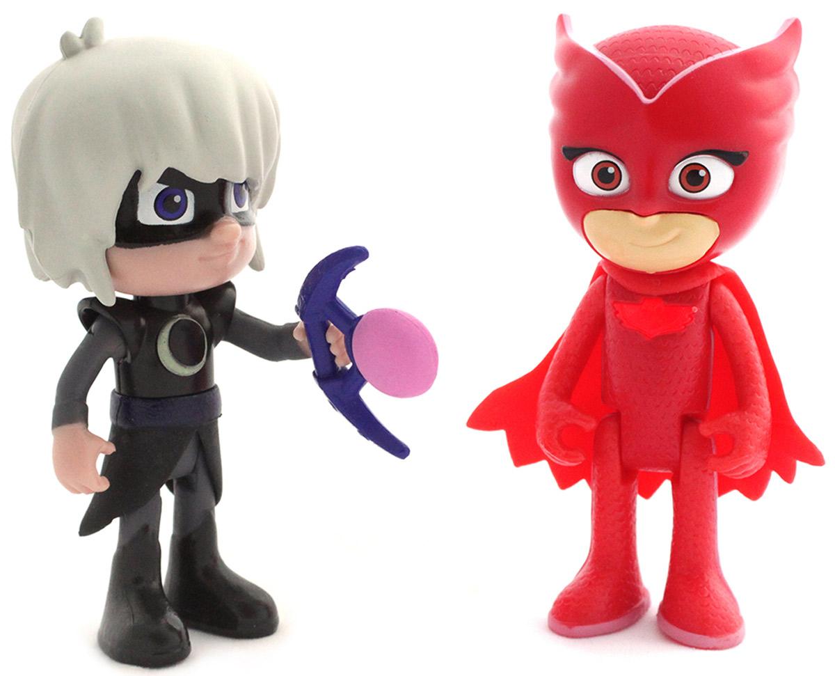 Герои в масках Набор фигурок Алетт и Лунная девочка со световым эффектом