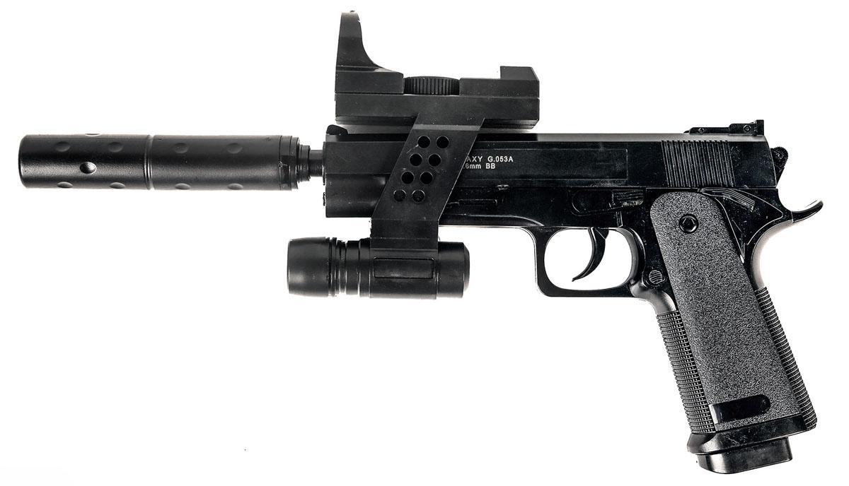 """Пистолет софтайр Galaxy """"G.053A"""", пружинный, 6 мм"""