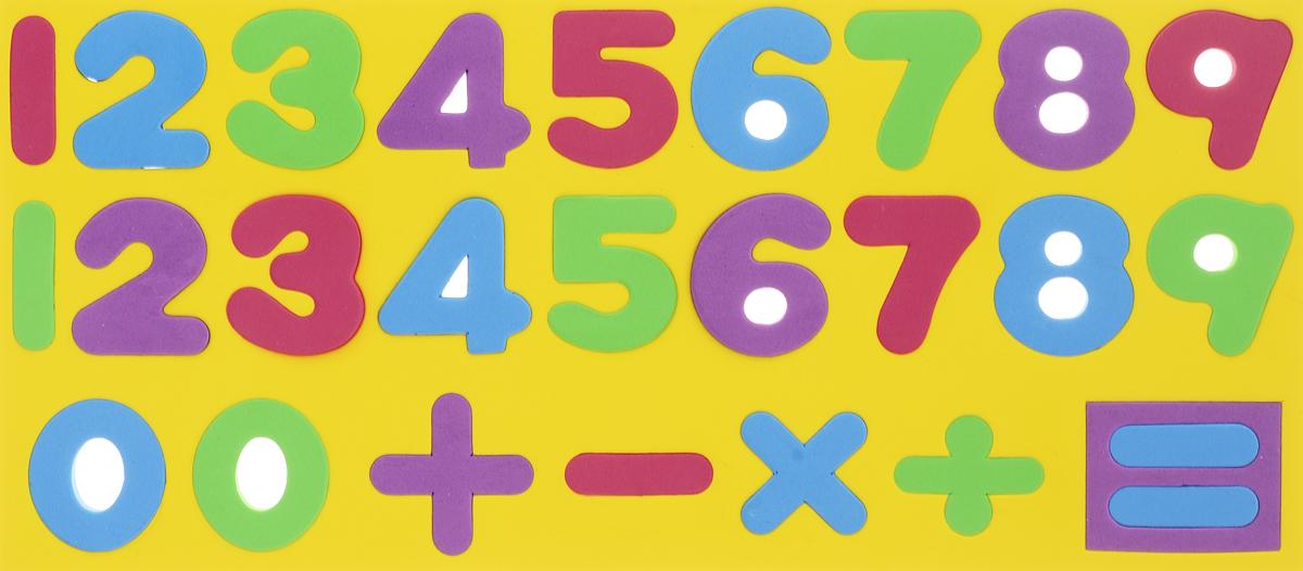 Kribly Boo Обучающая игра Набор магнитных цифр и знаков