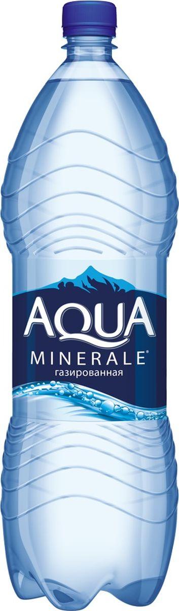 Aqua Minerale вода газированная питьевая, 2 л