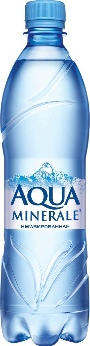 Aqua Minerale вода питьевая негазированная, 0,6 л