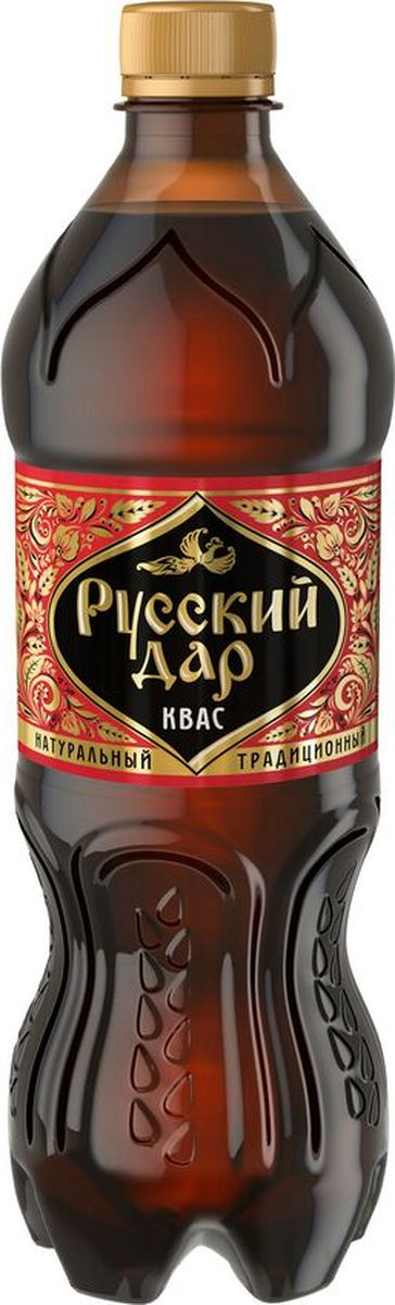 Русский Дар Традиционный квас, 0,5 л квас никола традиционный 1 л х 6 шт
